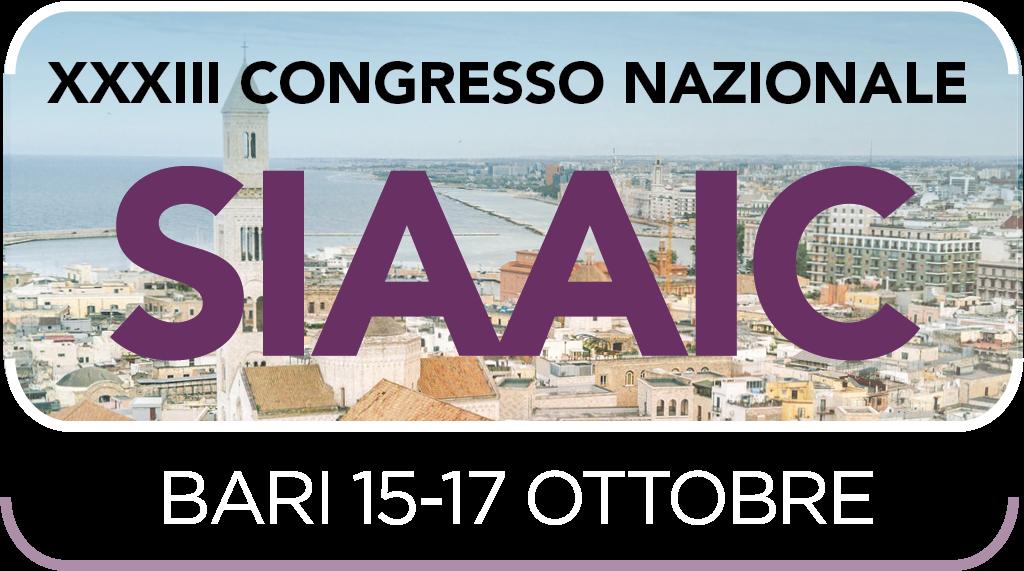 Congresso SIAAIC XXXIII